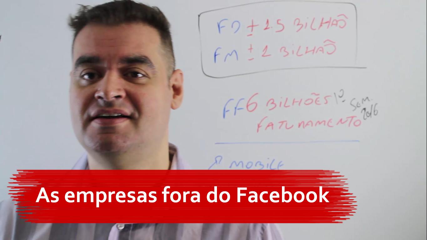 As empresas fora do Facebook
